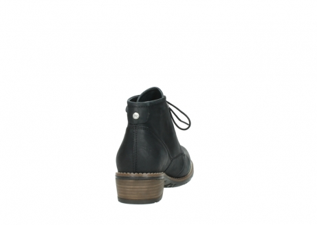 wolky lace up boots 00565 real 30000 black leather_8