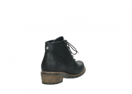 wolky lace up boots 00565 real 30000 black leather_9