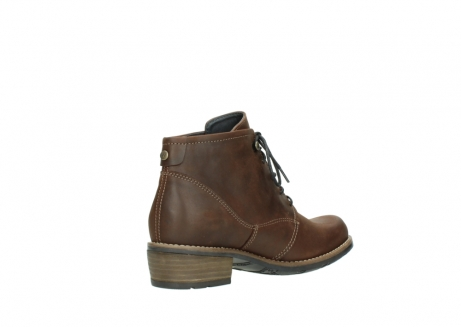 wolky lace up boots 00565 real 50300 brown oiled leather_10
