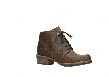 wolky lace up boots 00565 real 50300 brown oiled leather_15