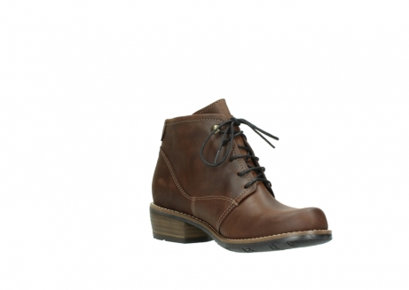 wolky lace up boots 00565 real 50300 brown oiled leather_16