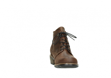 wolky lace up boots 00565 real 50300 brown oiled leather_18