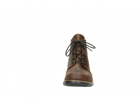 wolky lace up boots 00565 real 50300 brown oiled leather_19