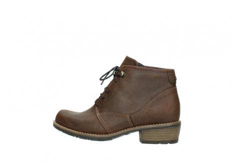 wolky lace up boots 00565 real 50300 brown oiled leather_2