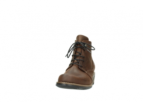 wolky lace up boots 00565 real 50300 brown oiled leather_20