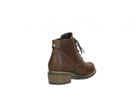 wolky lace up boots 00565 real 50300 brown oiled leather_9