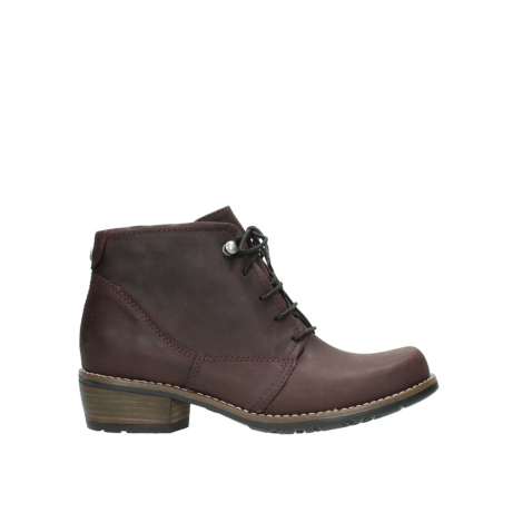 wolky veterboots 00565 real 50510 bordeaux geolied leer