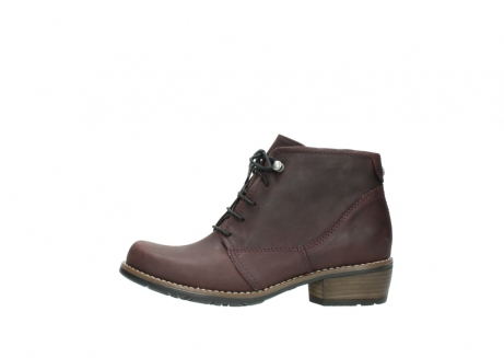 wolky bottines a lacets 00565 real 50150 cuir bordeaux_1