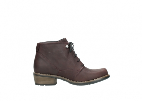 wolky bottines a lacets 00565 real 50150 cuir bordeaux_13