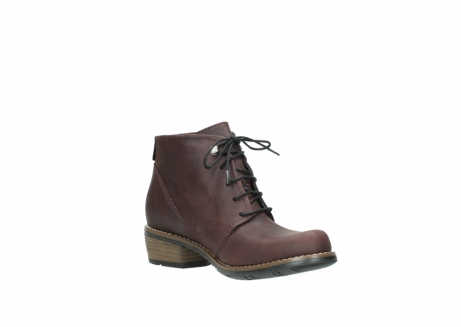 wolky bottines a lacets 00565 real 50150 cuir bordeaux_16