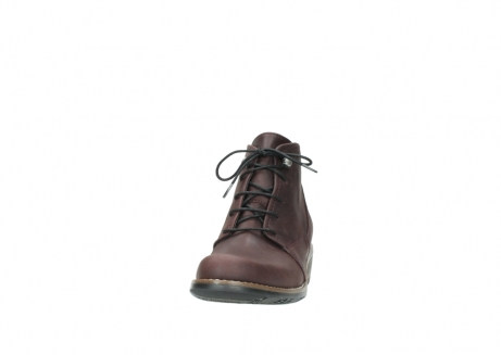 wolky bottines a lacets 00565 real 50150 cuir bordeaux_20