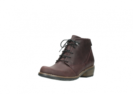 wolky bottines a lacets 00565 real 50150 cuir bordeaux_22