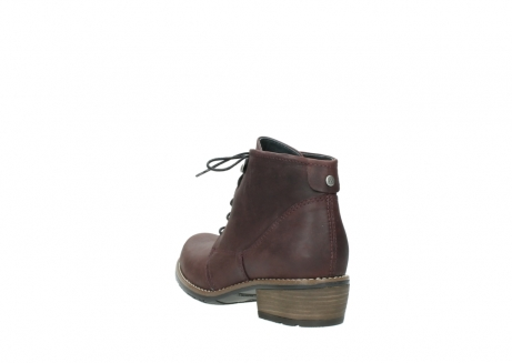wolky bottines a lacets 00565 real 50150 cuir bordeaux_5