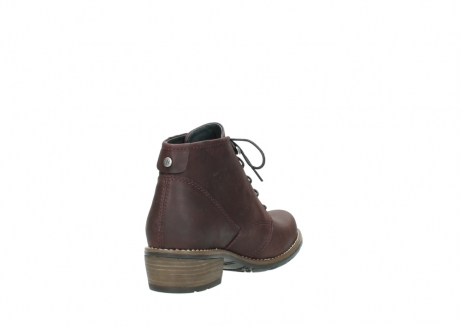 wolky bottines a lacets 00565 real 50150 cuir bordeaux_9