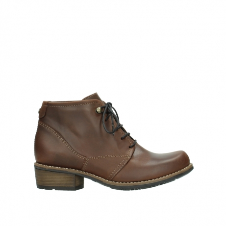 wolky veterboots 00575 real cw 50300 bruin geolied leer
