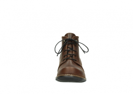 wolky lace up boots 00575 cw 50300 brown oiled leather_19