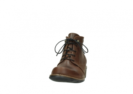 wolky lace up boots 00575 cw 50300 brown oiled leather_20