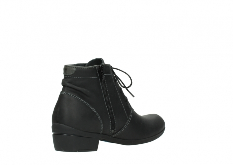 wolky lace up boots 00951 el dorado 50002 black leather_10