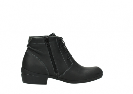 wolky lace up boots 00951 el dorado 50002 black leather_12