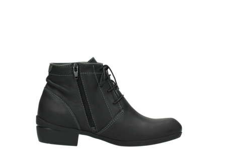 wolky lace up boots 00951 el dorado 50002 black leather_13