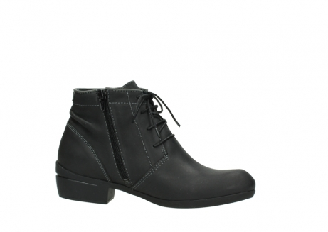 wolky lace up boots 00951 el dorado 50002 black leather_14