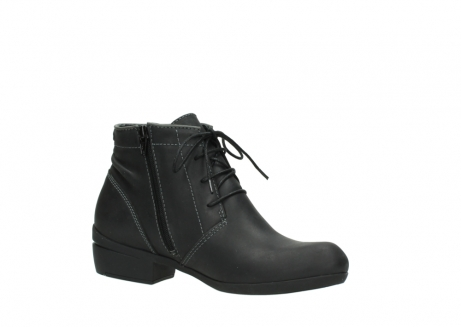 wolky lace up boots 00951 el dorado 50002 black leather_15