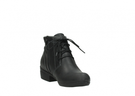 wolky lace up boots 00951 el dorado 50002 black leather_17
