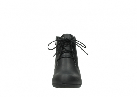 wolky lace up boots 00951 el dorado 50002 black leather_19