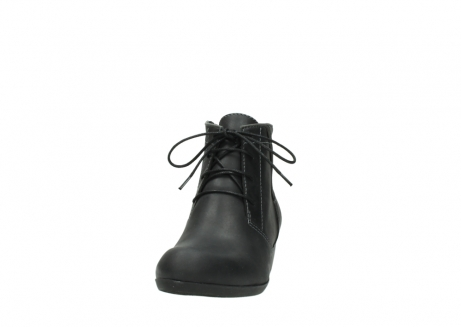 wolky lace up boots 00951 el dorado 50002 black leather_20