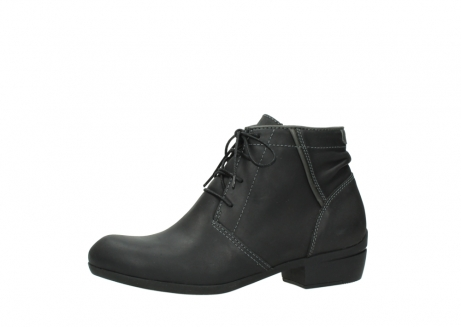wolky lace up boots 00951 el dorado 50002 black leather_24
