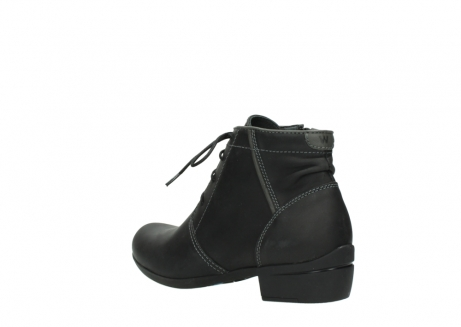wolky lace up boots 00951 el dorado 50002 black leather_4