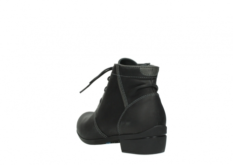 wolky lace up boots 00951 el dorado 50002 black leather_5
