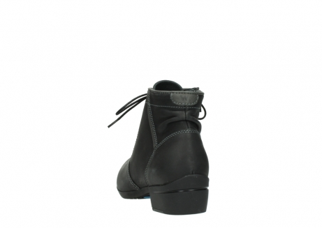 wolky lace up boots 00951 el dorado 50002 black leather_6