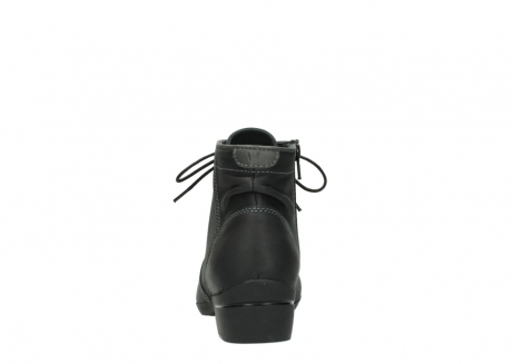 wolky lace up boots 00951 el dorado 50002 black leather_7