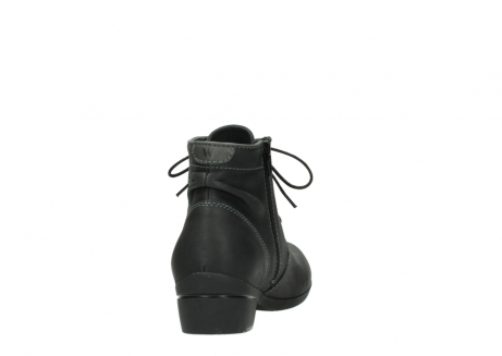 wolky lace up boots 00951 el dorado 50002 black leather_8
