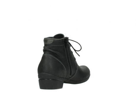 wolky lace up boots 00951 el dorado 50002 black leather_9