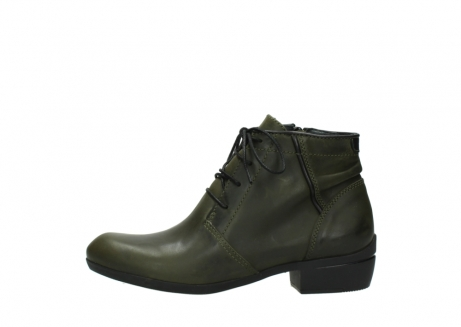 wolky lace up boots 00951 el dorado 50732 forestgreen leather_1