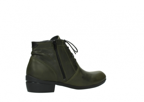wolky lace up boots 00951 el dorado 50732 forestgreen leather_11