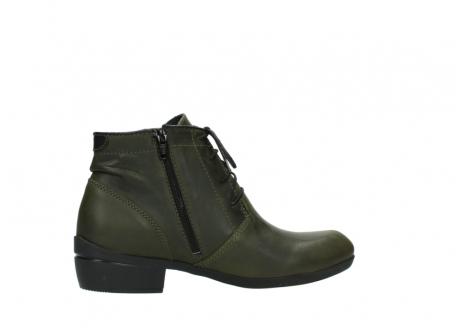 wolky lace up boots 00951 el dorado 50732 forestgreen leather_12