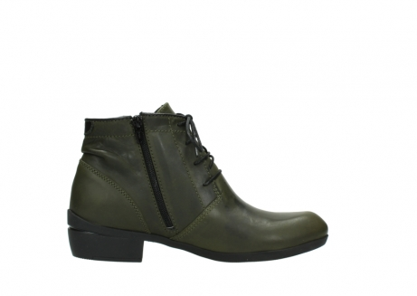 wolky lace up boots 00951 el dorado 50732 forestgreen leather_13