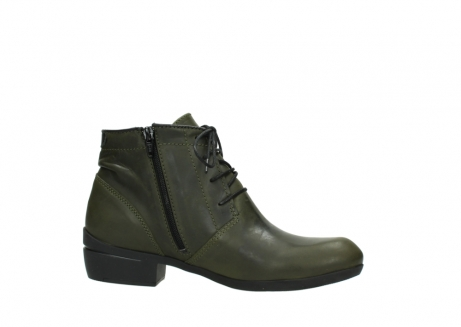 wolky lace up boots 00951 el dorado 50732 forestgreen leather_14