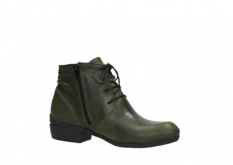 wolky lace up boots 00951 el dorado 50732 forestgreen leather_15