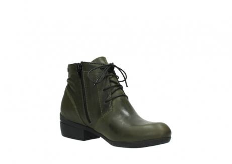 wolky lace up boots 00951 el dorado 50732 forestgreen leather_16