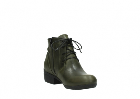 wolky lace up boots 00951 el dorado 50732 forestgreen leather_17
