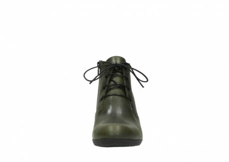 wolky lace up boots 00951 el dorado 50732 forestgreen leather_19