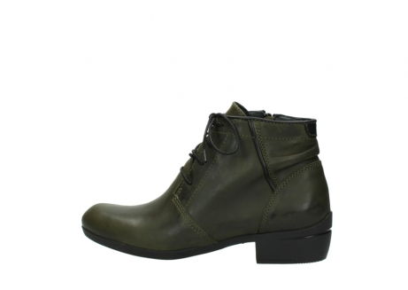 wolky lace up boots 00951 el dorado 50732 forestgreen leather_2