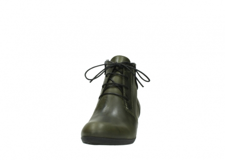 wolky lace up boots 00951 el dorado 50732 forestgreen leather_20