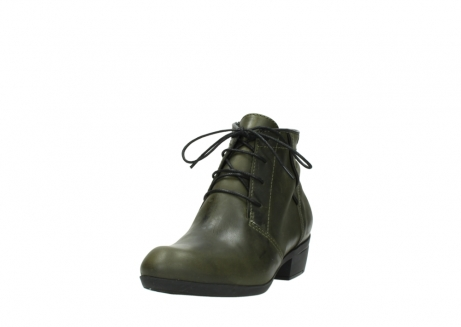 wolky lace up boots 00951 el dorado 50732 forestgreen leather_21