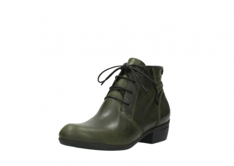 wolky lace up boots 00951 el dorado 50732 forestgreen leather_22