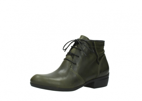 wolky lace up boots 00951 el dorado 50732 forestgreen leather_23